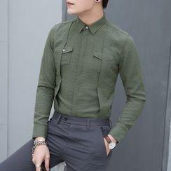 Orizzon - Long-Sleeve Layered Shirt