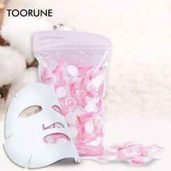 TOORUNE - Compressed Facial Mask - 100 Pcs
