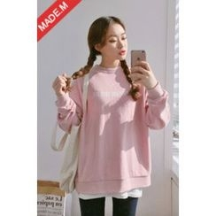 MICHYEORA - Lettering Sweatshirt