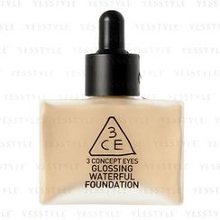 3 CONCEPT EYES - Glossing Waterful Foundation SPF 15 PA+ (Nude Beige)