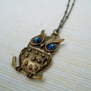 MyLittleThing - Shiny Owl Necklace