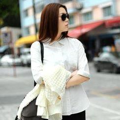 SO Central - Long-Sleeved Dual-Pocket Shirt