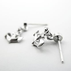 Sterlingworth - Anchor Sterling Silver Single Earring