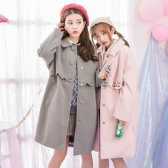 Moriville - Woolen Long Coat