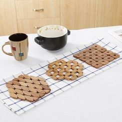 Home Affairs - Bamboo Pot Coaster