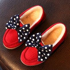 Luco - Kids Bow Detail Loafers