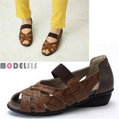 MODELSIS - Genuine Leather Sandals