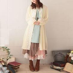 Nectarine - 套裝:背心裙 + 長外套