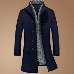 Wild Dragon - Wool Blend Coat