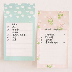 Class 302 - Printed Note Pad
