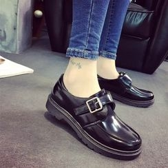 Chryse - Buckled Loafers