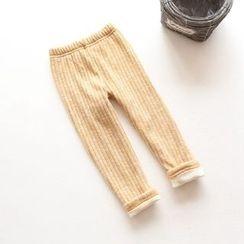 Rakkaus - Kids Fleece-Lined Leggings
