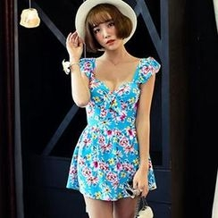 Zeta Swimwear - Floral Swimdress
