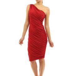 Dream a Dream - Single Shoulder Sheath Dress