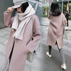 ESODO - Long Woolen Coat
