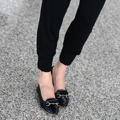 SO Central - Buckle Detail Pointy Flats