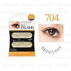 D-up - Eyelashes Under Series (#704 Fluffy Straight)
