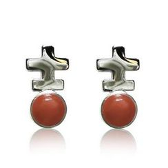 ZN Concept - Red Agate Earrings