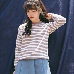 SUYISODA - Stripe Knit Top