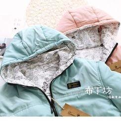 布丁坊 - 連帽夾棉外套