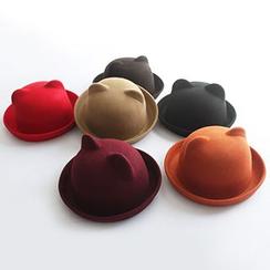EVEN - Bear Ear Fedora Hat