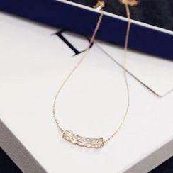 Love Generation - Rhinestone Short Necklace