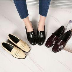Parkwalker - 流蘇樂福鞋