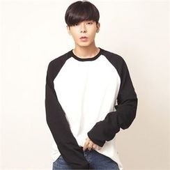 Superstar.i - Contrast Raglan-Sleeve T-Shirt
