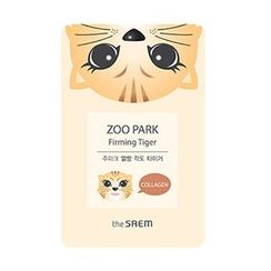 The Saem - Zoo Park Firming Tiger Mask Sheet 1pc