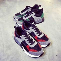 Tina Nini - Color Block Platform Sneakers