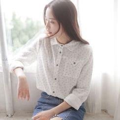 兰芝 - 碎花衬衫