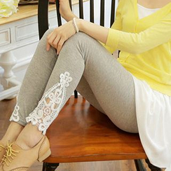 Daisyfield - Lace Panel Leggings