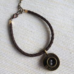 MyLittleThing - Brown Leather Cappuccino Bracelet
