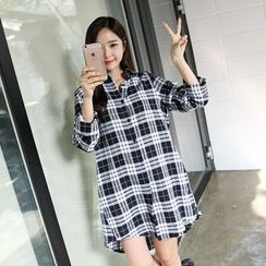 Envy Look - Check Long Shirt