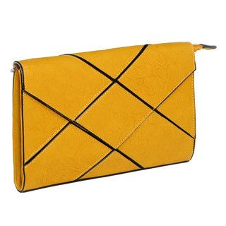 59 Seconds - Geometric Panel Envelope Clutch