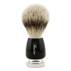 Baxter Of California - Baxter Badger Hair Shave Brush - Silver Tip (Black)
