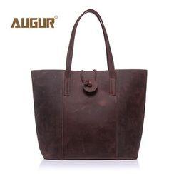 AUGUR - Genuine Leather Tote Bag