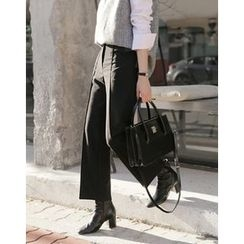 UPTOWNHOLIC - Seam-Detail Dress Pants