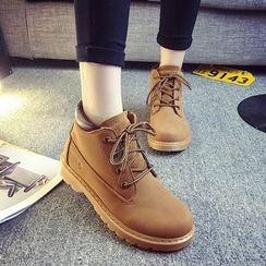 BAYO - 纯色马丁靴