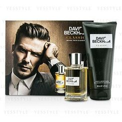 David Beckham - Classic Coffret: After Shave Lotion 60ml/2oz + Hair and Body Wash 200ml/6.7oz