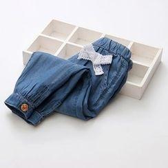 Seashells Kids - Kids Bow Detail Jeans