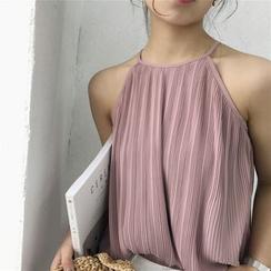 Windflower - Textured Halter Camisole