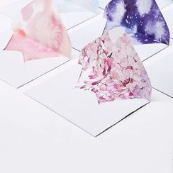 Porcelina - Set: Printed Letter Paper + Envelope