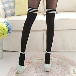 MEIA - Stripe Tights