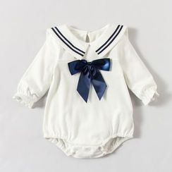 MOM Kiss - Baby Sailor Collar Bodysuit