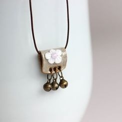 Porcelana - Bell Pendant Necklace