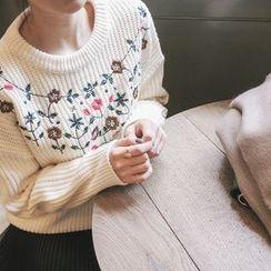 mimi&didi - Embroidered Sweater