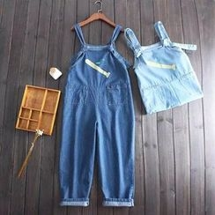 Vateddy - Embroidered Dungaree