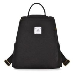 SUPER LOVER - Korean Style Back to School Canvas Backpack