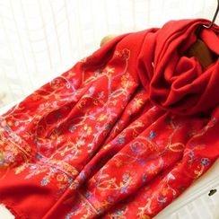 RGLT Scarves - Embroidered Winter Scarf
